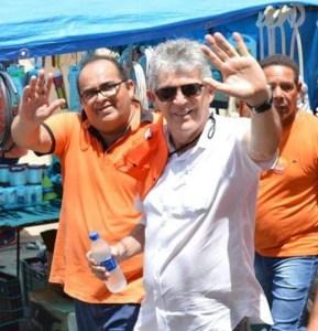 Prefeito Eleito Fernando Naia e o Governador Ricardo Coutinho