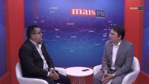Prefeito eleito Elias Costa (PMDB) e o Jornalista Heron Cid