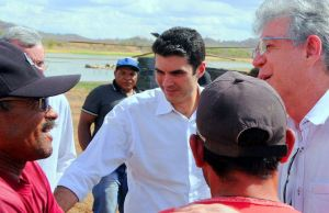 Ministro Helder Barbalho e o governador Ricardo Coutinho (Imagem: Secom-PB)