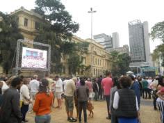 Samba foi destaque na Praça da República