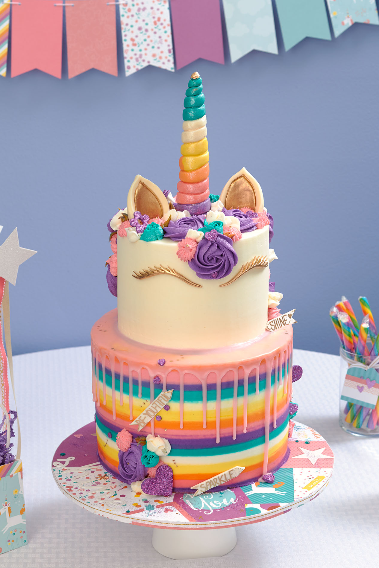 This Unicorn Party Takes The Cake
