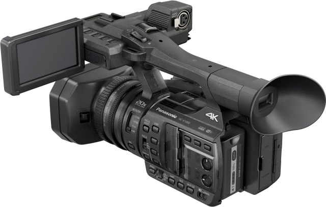 First Look: New Panasonic HC-X1000 4K Camcorder, Packed