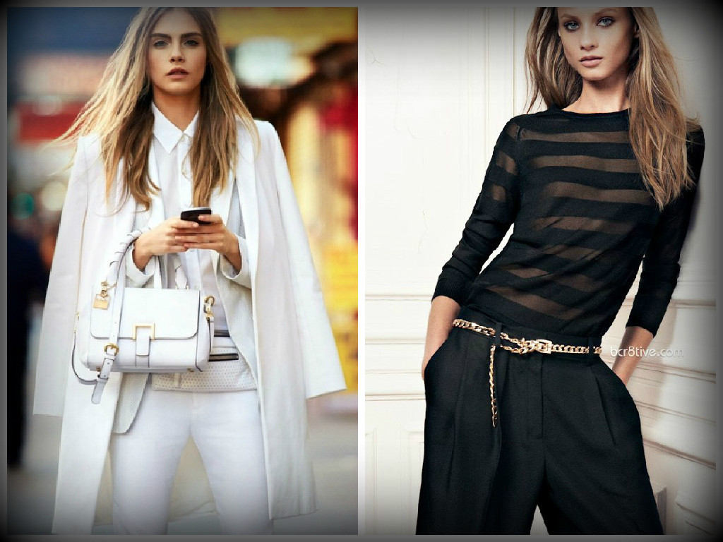 dd001e7e22 Look total branco ou preto é lindo! Saiba como usar!
