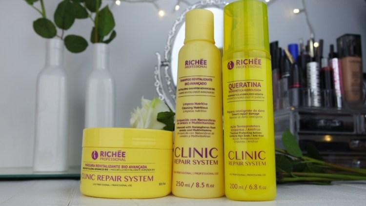 kit clinic repair system embalagem amarela blog da ana