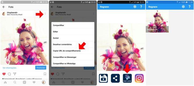 como repostar app regrann instagram mais tarde blog da ana