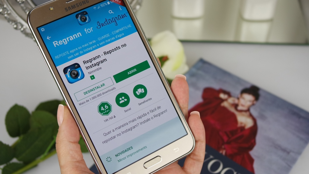 Como repostar (e muito mais!) no Instagram?  (Android)