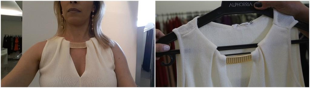 outlet alphorria blusa tricot corrente gola blog da ana