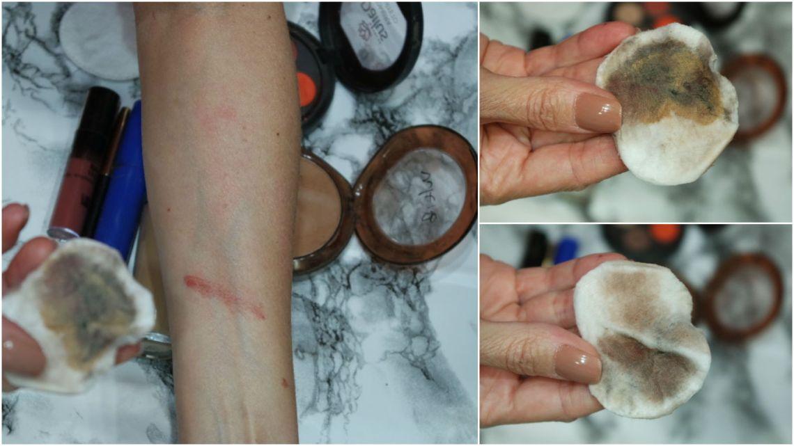 resenha solução micelar bioderma swatch pele blog da ana