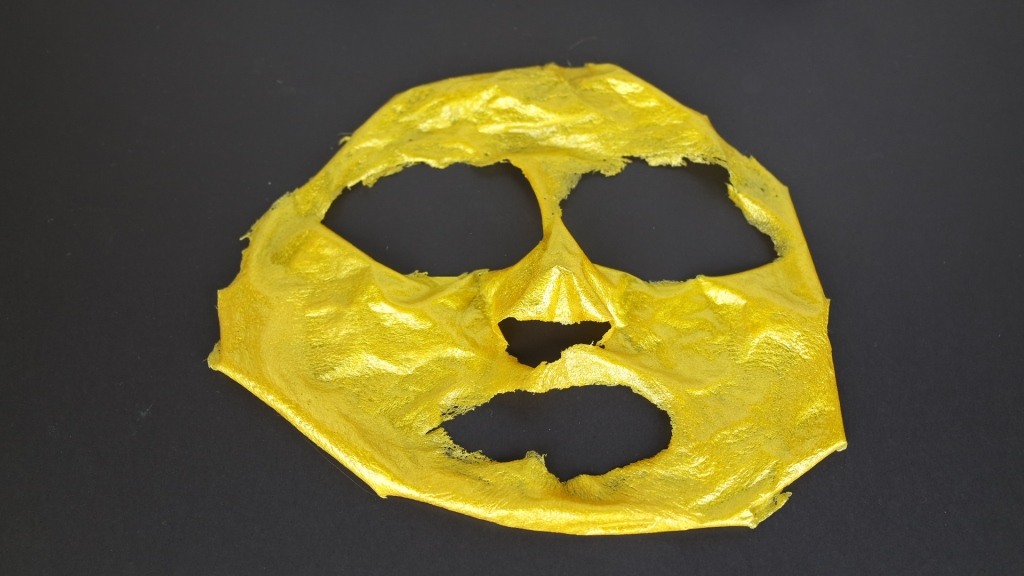 golden máscara facial 24K avenca depois blog da ana