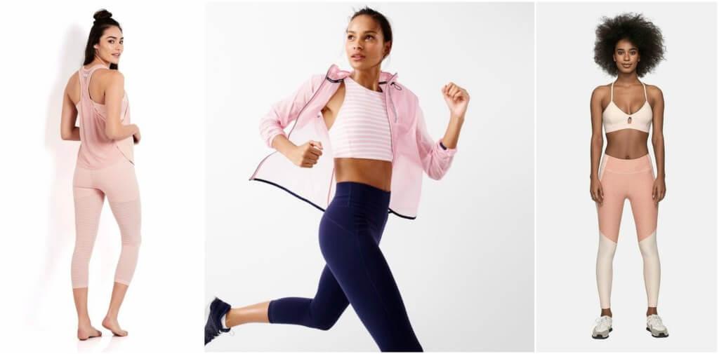 millennial pink gym blog da ana