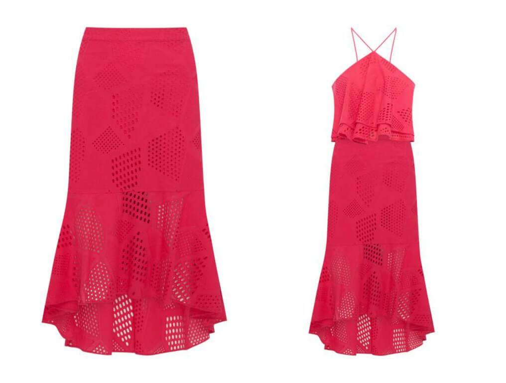coleção parceria patbo cea laise vestido vermelho blog da ana