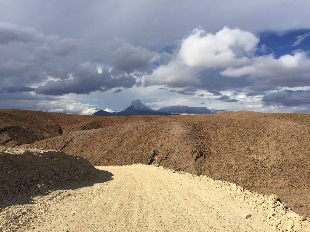 Estrada de Tupiza para Uyuni