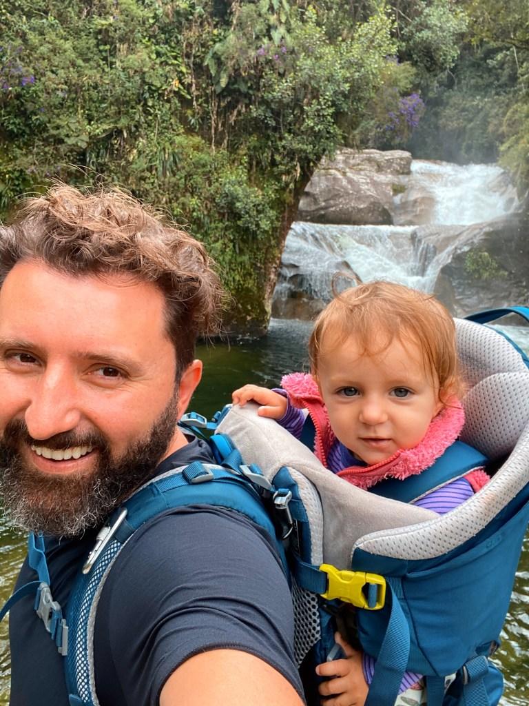 Deuter Kid Comfort Cachoeira do Maromba