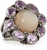 stephen-dweck-moonstone-amethyst-flower-ring