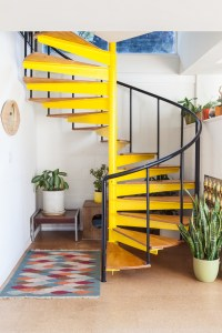 yellow-spiral-stairs-staircase-cococozy-laurejoliet