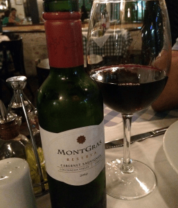 Vinho Montgras Famiglia Mancini