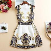 Women-Dress-Office-Print-Elegant-Summer-Style-Desigual-Brand-Casual-White-Club-Female-Vestidos-de-Festa