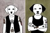 Rona-Green-dog-illustration-The-Duke-Dusty-Rhodes