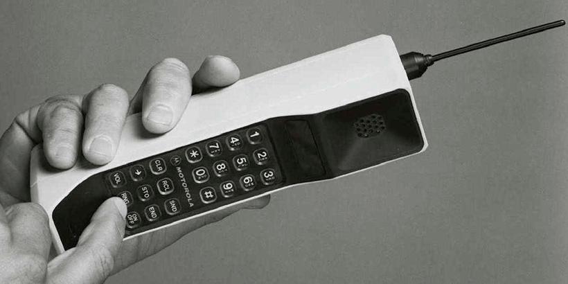 Primeiro celular fabricado na telefonia móvel
