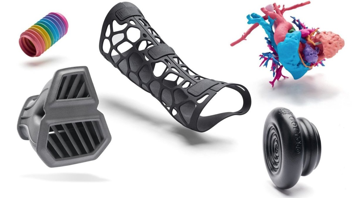 Peças Impressão 3D (Multi Jet Fusion)