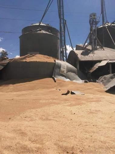 Rompimento de silo