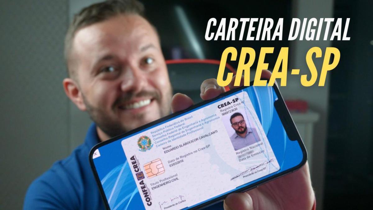 Carteirinha Digital CREA-SP