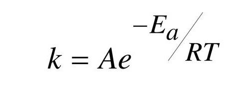 Equação de Arrhenius