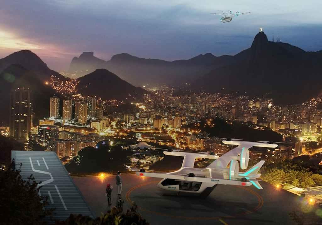 Embraer aquece mercado de mobilidade aérea