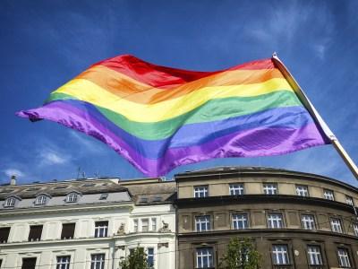 Bandeira LGBT+