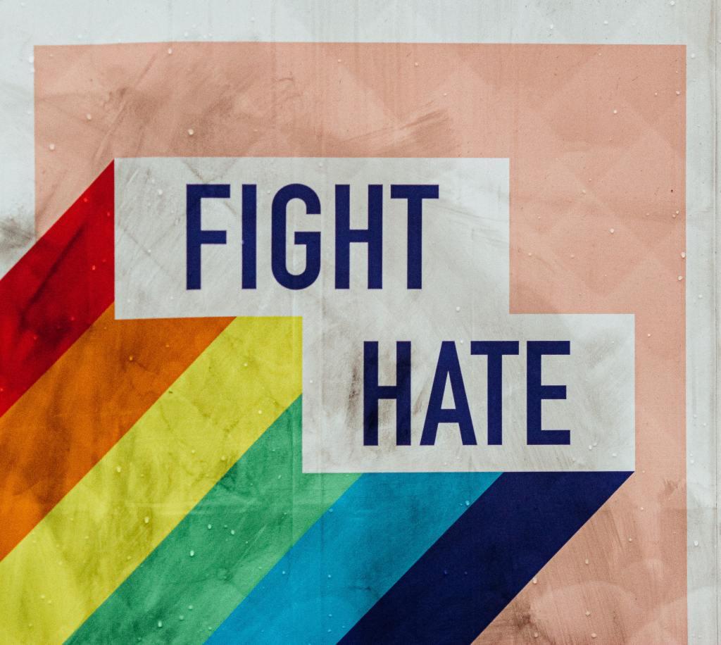 Mensagem contra o ódio