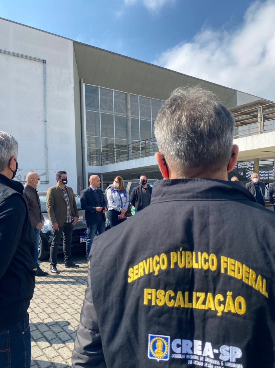Força-Tarefa de Fiscalização do CREA-SP no município de Poá.