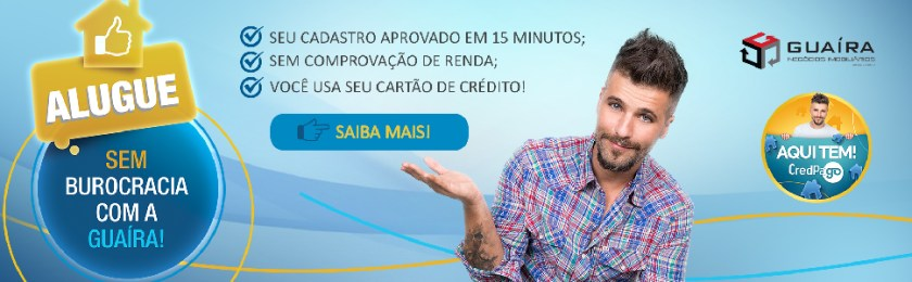 Credpago aluguel sem burocracia e Imobiliária de Santo André Guaíra Imóveis