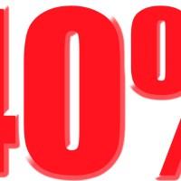 40% off KJU