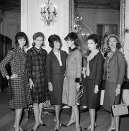 moda em 1961
