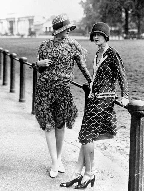 La mode à Ascot (Grande-Bretagne), en 1925. RV-67520