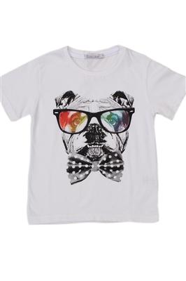 camiseta-infantil-dog-style