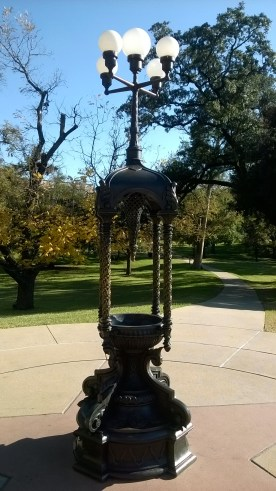 Drinking fountain on Capital grounds that still works