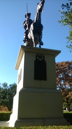 Memorial to commerate soldiers who fought for the Confederacy