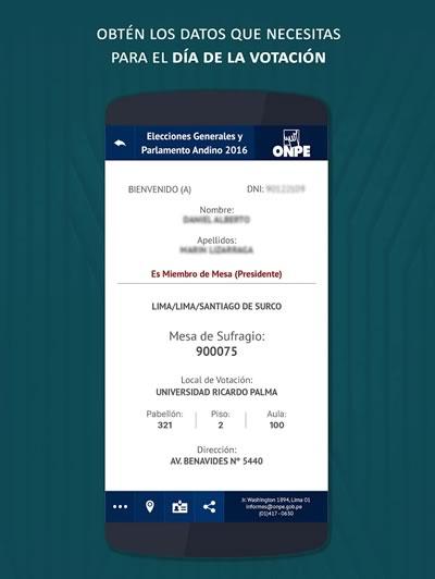app onpe consulta local de votacion resultado
