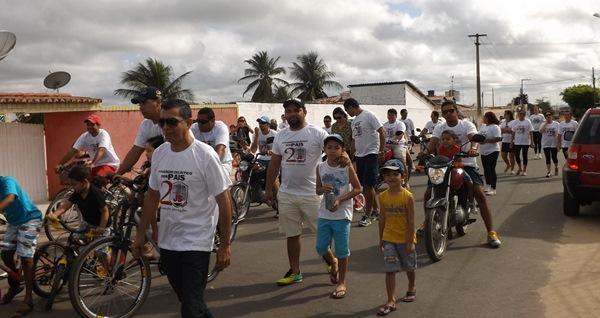 2º Passeio ciclístico do Colégio Educacional Professor Júnior Souza