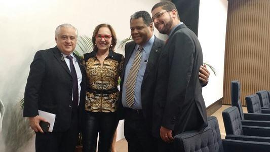 Dep. Antônio Brito, Zenaide Maia, Dep. Odorico Monteiro e José Rodrigues