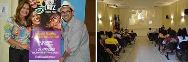 Lançamento do Fest Bossa Jazz em São Miguel do Gostoso