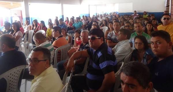 Evento do Solidariedade reuniu um grande número de pessoas