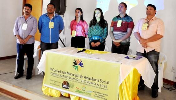 V Conferência Municipal de Assistência Social