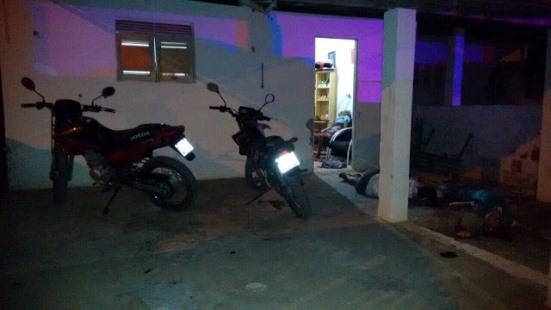 Chacina aconteceu em residência próxima ao Clube Álibi(foto:Gazeta do Oeste)