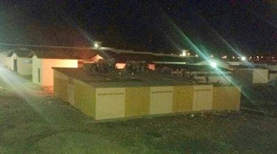 Motim no Pereirão de Caicó durante a noite