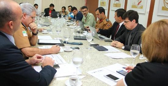 Reunião com associação dos  PMs