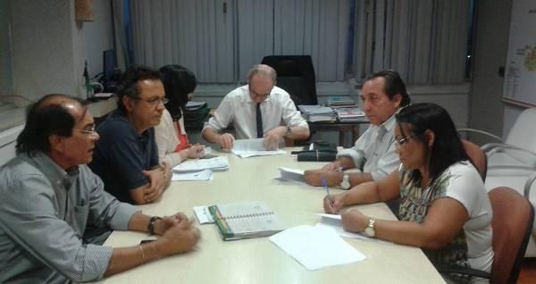 Ato de assinatura do PRotocolo de cooperação para Porta de Entrada do Hospital Regional
