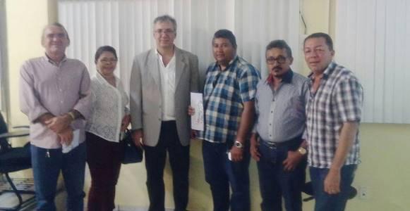 Chico de Floriano, Francileide, palestrante Carlos Russo, Chiquinho, Josiano e Jacson Dantas