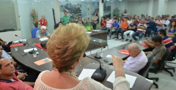 Vilma participa de encontro de lideranças da região agreste